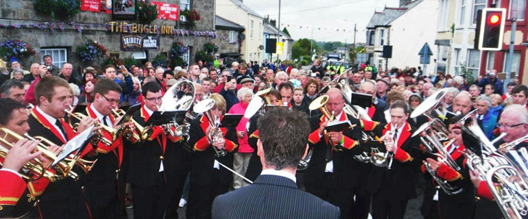 St Dennis Band - winners 2012